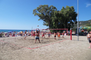 Spiaggia Andora Beach volleyball in Liguria