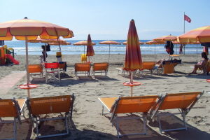 Bagni Europa Beaches in Liguria