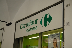 Carrefour Express Grocery store in Liguria