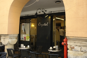 Crystal Cafes in Liguria