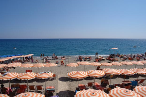 Bagni Nilo Beaches in Liguria
