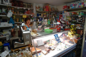 Alimentari Grocery store in Liguria