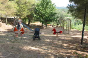 Evigno Playground in Liguria