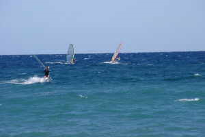 AKI Surfing Park sailboarding in Liguria