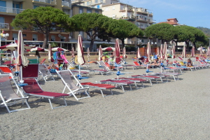 Bagni Adrimer Beaches in Liguria