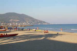 Bagni Kursaal Beach volleyball in Liguria