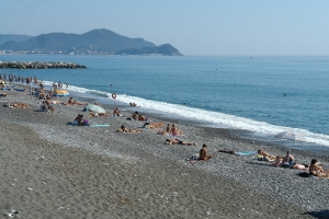 Lavagna beaches with no admission fee in Liguria