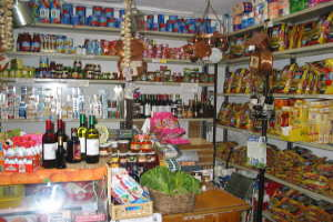 Moltedo Grocery store in Liguria