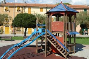 Riva Trigoso Playground in Liguria