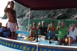 Levanto Bonassola Boat miniexcursions boat trips in Liguria