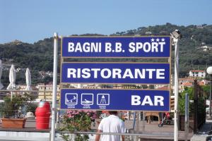 Bagni B.B. Sport Beaches in Liguria