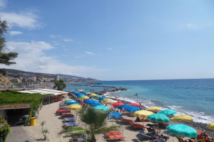 Magama Beaches in Liguria