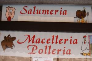 Salumeria Butcher in Liguria