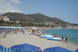 Bagni Teresa Beach volleyball in Liguria