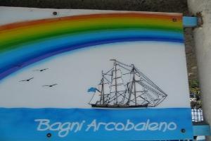 Bagni Acrobaleno Beaches in Liguria