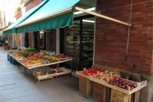 Alimentari Grocery store in Liguria