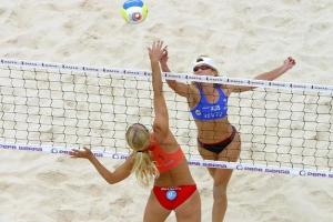 Bagni Enrica Beach volleyball in Liguria