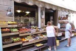 U Caruggia Grocery store in Liguria