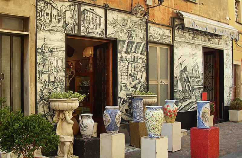 Albisola - a center of italian ceramics