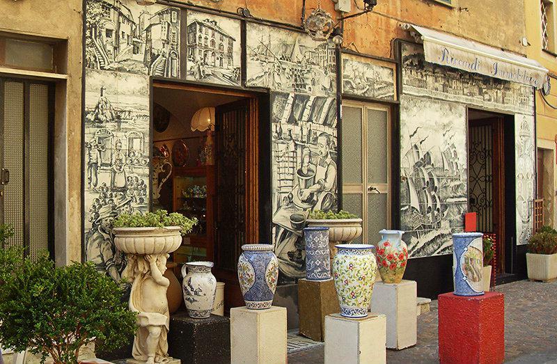 Albisola - a center of italian ceramics
