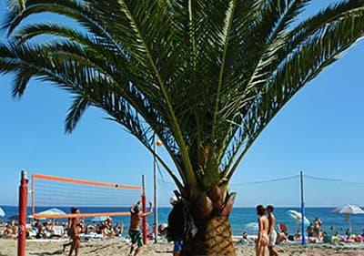 Beach in Andora, Liguria