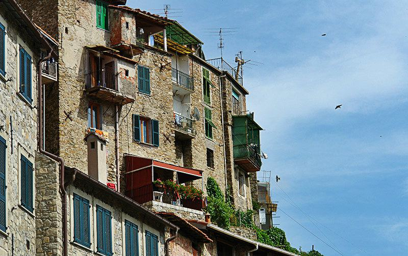 Beautiful view of Apricale