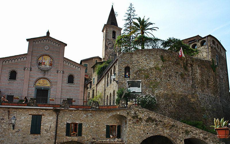 Il castello della Lucertola in Apricale