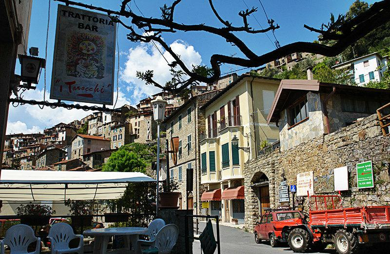 A beautiful streer in Apricale