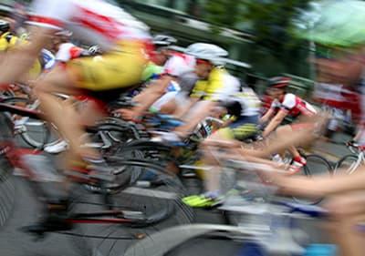 Bike race in Liguria