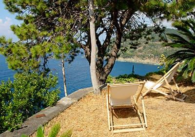 Seaview from Bonassola in Liguria