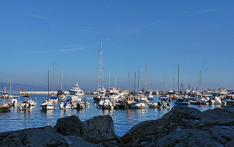 The beautiful port of Santa Margherita Ligure