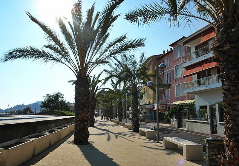 The streets of Arma di Taggia