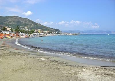 Beach in Ceriale, Liguria