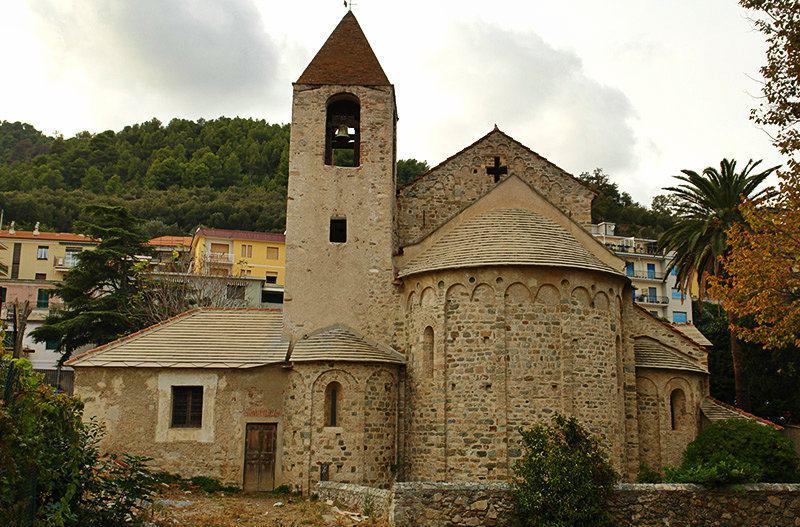 Chiesa di San Paragorio of Noli in Liguria