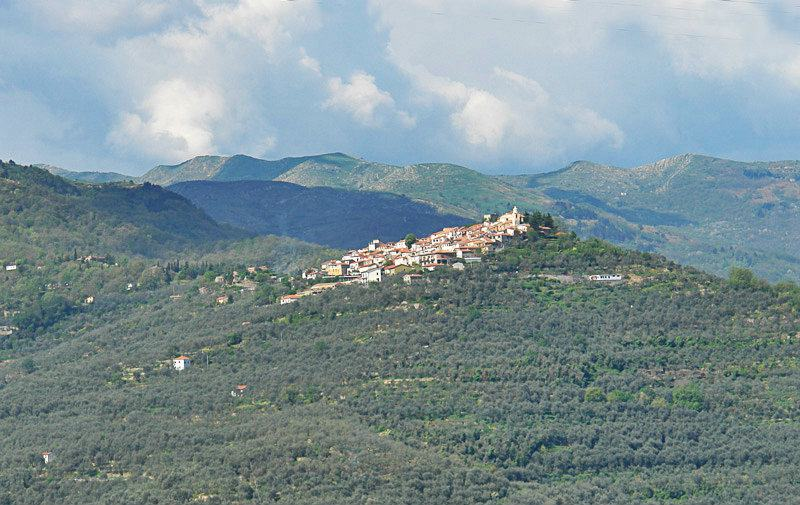 A beautiful view of holiday resort Chiusavecchia
