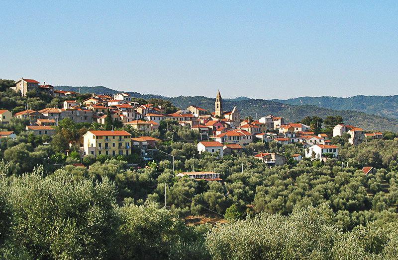 Beautiful view of holiday destination Diano Gorleri