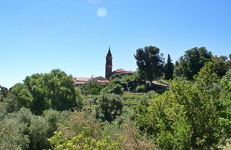 View of a beautiful village Gorleri