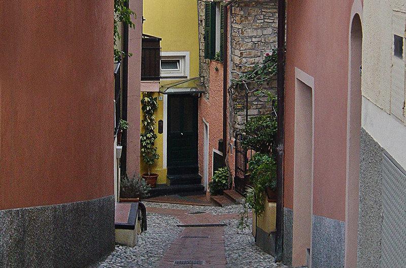 A romantic street in Diano Gorleri