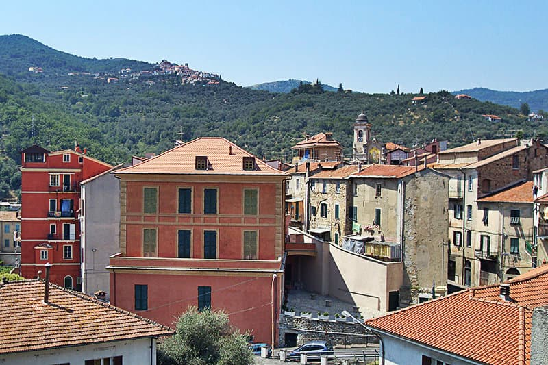 View of Pontedassio