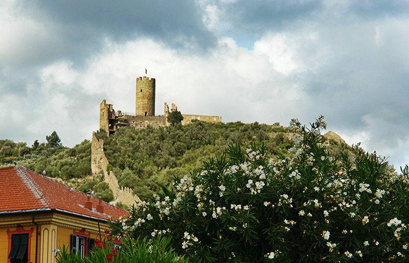 Il Castello di Monte Ursino of Noli in Liguria