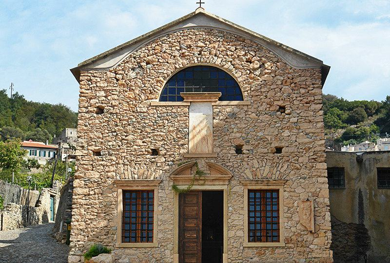 A church in Borgio Verezzi, Liguria