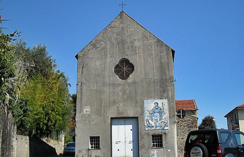 An old church in Celle Ligure