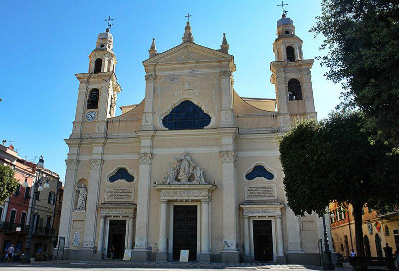 An old church in Pietra Ligure