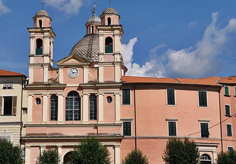 Church in Varese Ligure