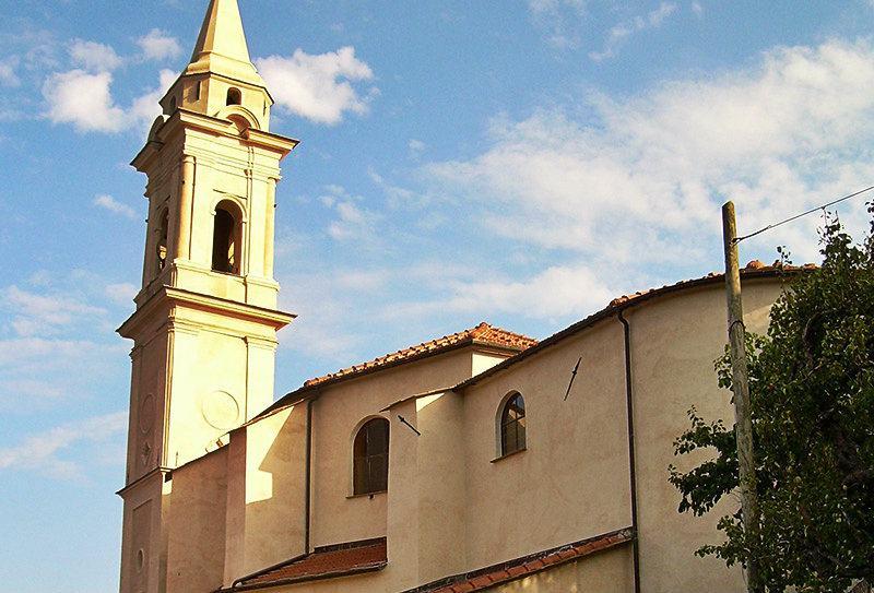 Chiesa Parrocchiale in Diano Gorleri, Liguria