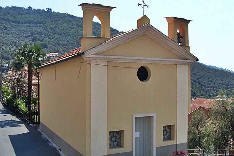 A church in Pontedassio
