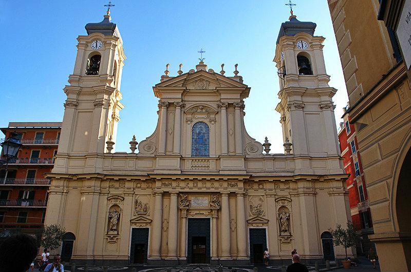 A church of San Giacomo in Santa Margherita Ligure