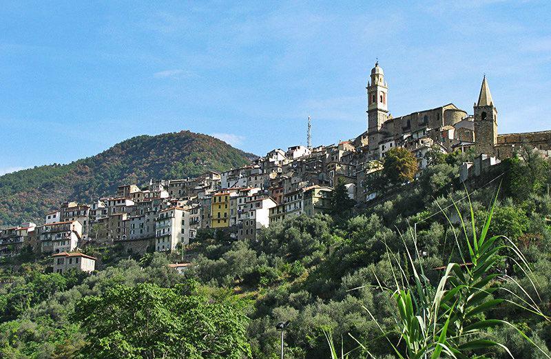 A beautiful view of holiday destination Molini di Triora