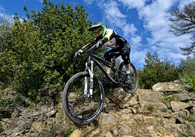 Mountainbike tours in the region of Liguria, Italy
