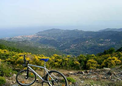 Mountainbike tour in Pietra Ligure, Liguria